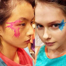 fashion-week-makeup-ss16-alex-box-paint-issey-miyake-motion-painting (Copy)